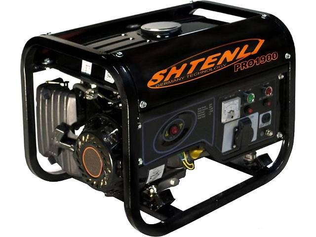 Бензогенератор (генератор электроэнергии бензиновый) Shtenli PRO 1900 - ИП