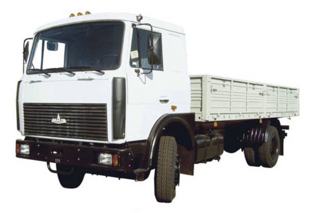 МАЗ 533603 1 покоління (рестайлінг) Борт