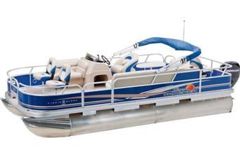 Sun Tracker Fishin Barge 20 DLX 2018