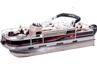 Sun Tracker Fishin Barge 22 DLX 2018