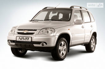 Chevrolet Niva 1.7 MT (80 л.с.) 2019