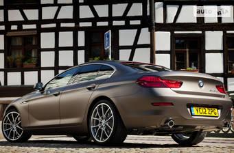 BMW 6 Series Gran Coupe F06 640i АТ (320 л.с.) xDrive 2017