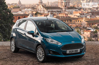 Ford Fiesta 1.0 Ecoboost AT (100 л.с.) 2017