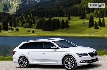 Skoda Superb New 2.0 TDI АT (190 л.с.) 4х4 2018
