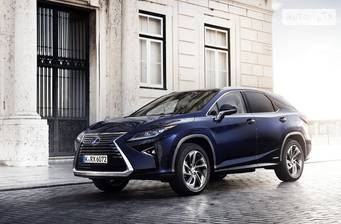 Lexus RX 200t AT (238 л.с.) AWD 2017