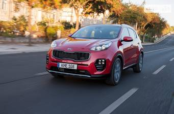 Kia Sportage 2.0D AT (185 л.с.) 4WD 2017