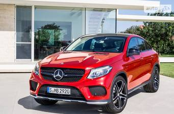 Mercedes-Benz GLE-Class GLE Coupe 43 AMG AT (367 л.с.) 4Matic 2017