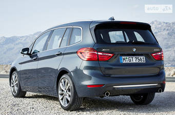 BMW 2 Series Gran Tourer 216d MT (116 л.с.) 2017