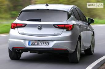 Opel Astra K 1.4 AT (150 л.с.) Start/Stop 2017