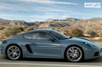 Porsche Cayman 718 2.0 AT (300 л.с.) 2019