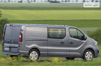 Opel Vivaro груз. Crew Van 1.6D MT (125 л.с.) L2H1 2.9T Start/Stop 2017
