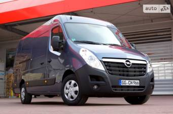 Opel Movano груз. 2.3TD МТ (145 л.с.) Start/Stop L3H2 3500 Double Wheel RWD 2017