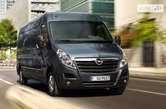Opel Movano груз. 2.3TD МТ (163 л.с.) Start/Stop L2H3 3500 FWD  2017