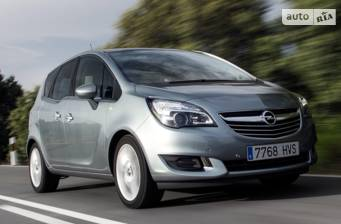Opel Meriva 1.4 MT5  (120 л.с.) 2017