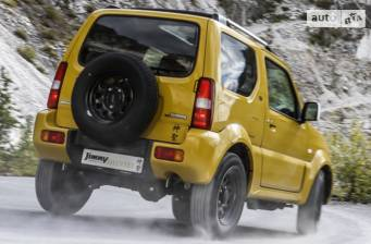 Suzuki Jimny 1.3 МТ (85 л.с.) 2018