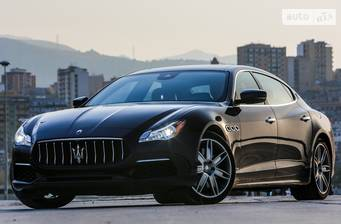 Maserati Quattroporte S 3.0 АТ (410 л.с.) 2018
