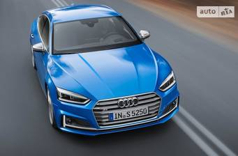 Audi S5 3.0 TFSI Tip-tronic (354 л.с.) Quattro 2018