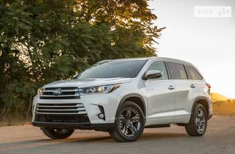 Toyota Highlander 3.5 AT (295 л.с.) AWD 2018
