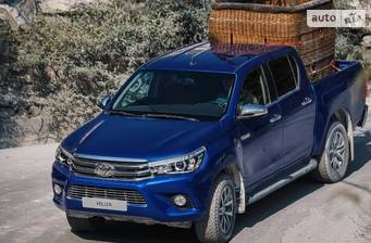 Toyota Hilux New 2.4 D-4D AT (150 л.с.) 2018