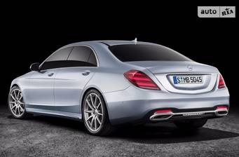 Mercedes-Benz S-Class S 350d AT (286 л.с.) 4Matc Long 2018