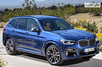 BMW X3 G01 30i AT (252 л.с.) xDrive 2019