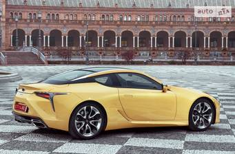Lexus LC 500 AT (477 л.с.) 2018