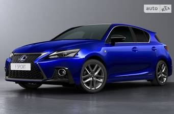 Lexus CT 200h AT (134 л.с.) 2018