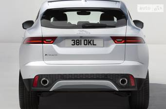 Jaguar E-Pace 2.0D MT (180 л.с.) AWD 2018