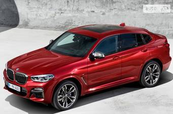 BMW X4 M40d AT (326 л.с.) xDrive 2018