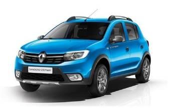 Renault Sandero 0.9TCe 5MT (90 л.с.) Stepway 2019
