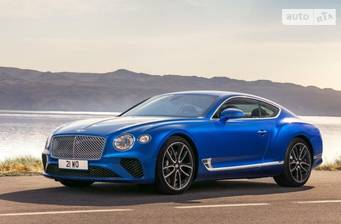 Bentley Continental GT 6.0 TSI (605 л.с.) AT 2018