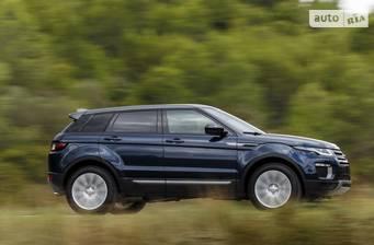Land Rover Range Rover Evoque 2.0D AT (150 л.с.) AWD 2017