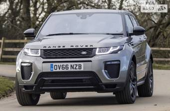 Land Rover Range Rover Evoque 2.0 Si4 AT (300 л.с.) AWD 2018