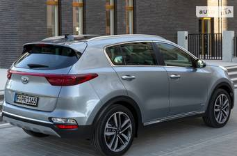 Kia Sportage 2.0 CRDi AT (185 л.с.) 4WD 2018