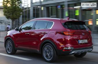 Kia Sportage 1.6 T-GDi AT (177 л.с.) 4WD 2018