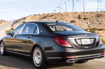 Mercedes-Benz Maybach S 650 AT (630 л.с.) 2018