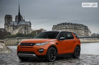 Land Rover Discovery Sport 2.0 Si4 АT (300 л.с.) AWD 2018