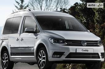 Volkswagen Caddy пасс. New 1.6 TDI АT (75 kw) Maxi 2019