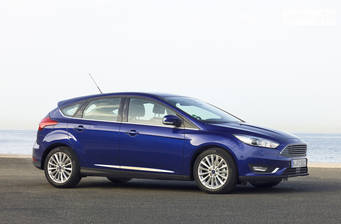 Ford Focus 2.3 Ecoboost turbo МТ (350 л.с.) AWD 2017
