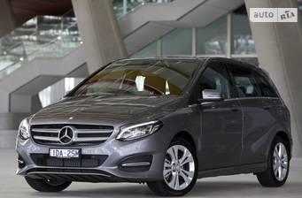 Mercedes-Benz B-Class B 200d MT (136 л.с.) 2017