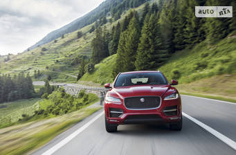 Jaguar F-Pace 2.0 AT (300 л.с.) AWD 2019