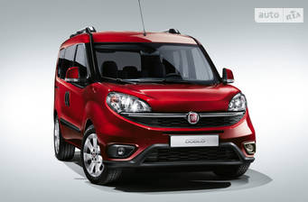 Fiat Doblo пасс. New Maxi 1.4 MT (95 л.с.) 2017