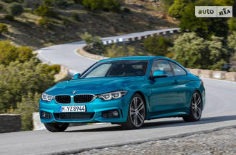 BMW 4 Series F32 440i MT (326 л.с.) xDrive 2017