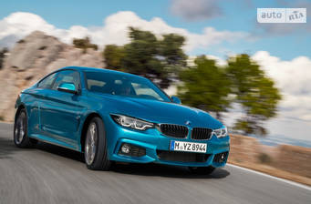 BMW 4 Series F32 420d MT (190 л.с.) xDrive 2017
