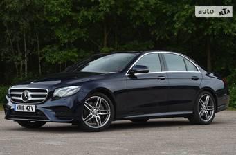 Mercedes-Benz E-Class New E 180 MT (156 л.с.) 2019