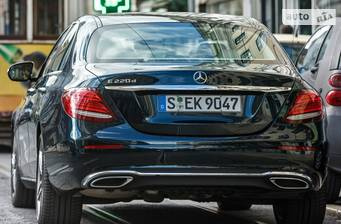 Mercedes-Benz E-Class New E 220d AT (194 л.с.) 2018