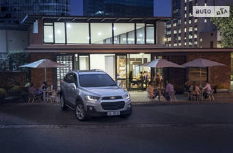Chevrolet Captiva FL 2.2D MT (184 л.с.) 2018