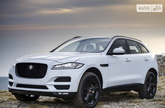 Jaguar F-Pace 2.0D AT (180 л.с.) 2019