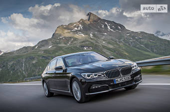 BMW 7 Series G12 725Ld (231 л.с.) 2017