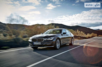 BMW 7 Series G11 730d AT (265 л.с.) 2017